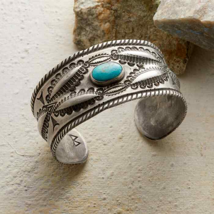 LEGENDS TURQUOISE CUFF
