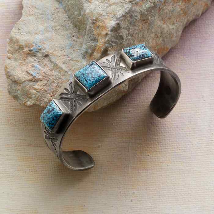 AL SOMERS TURQUOISE JUNCTION CUFF