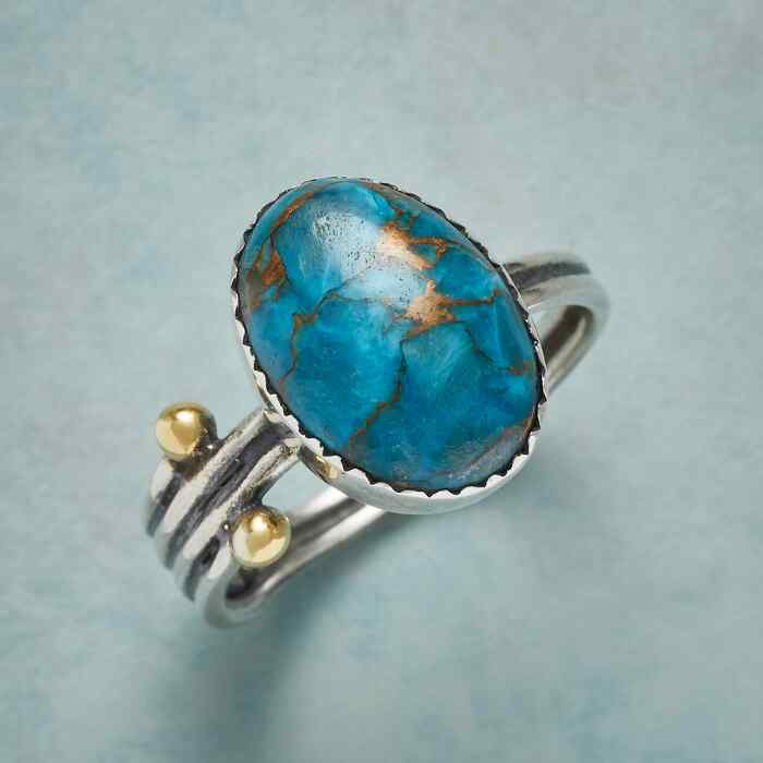 TURQUOISE TERRITORY RING