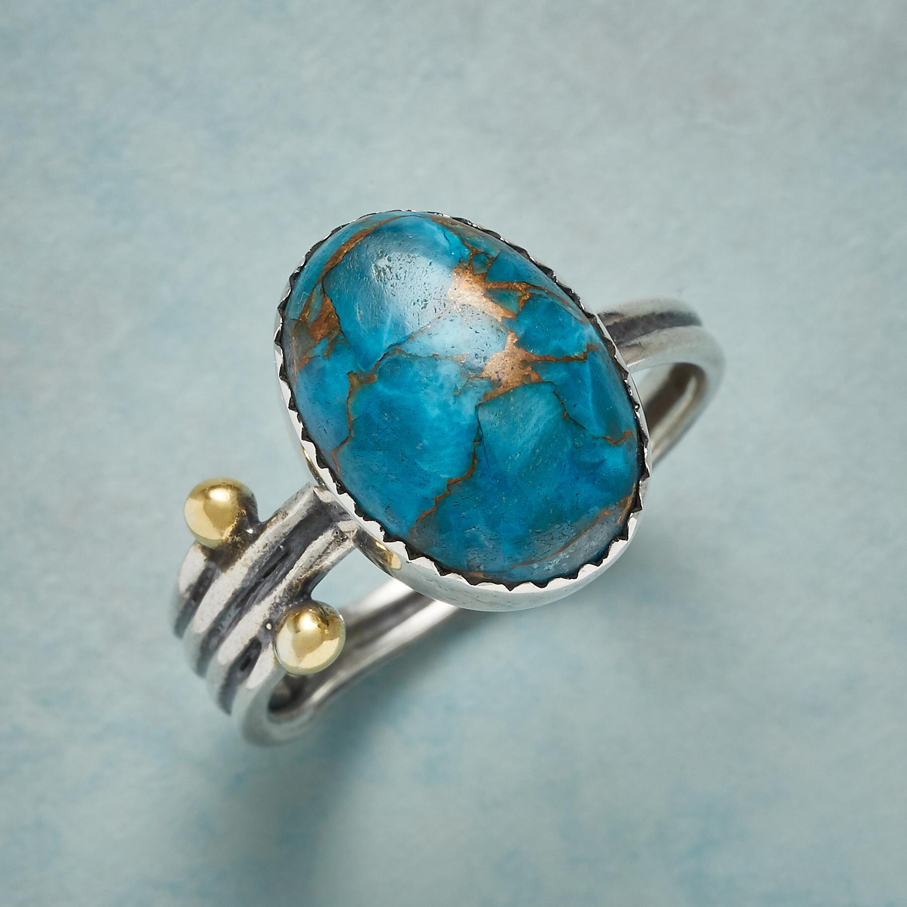TURQUOISE TERRITORY RING: View 1