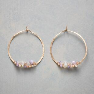 FAIRYTALE HOOP EARRINGS
