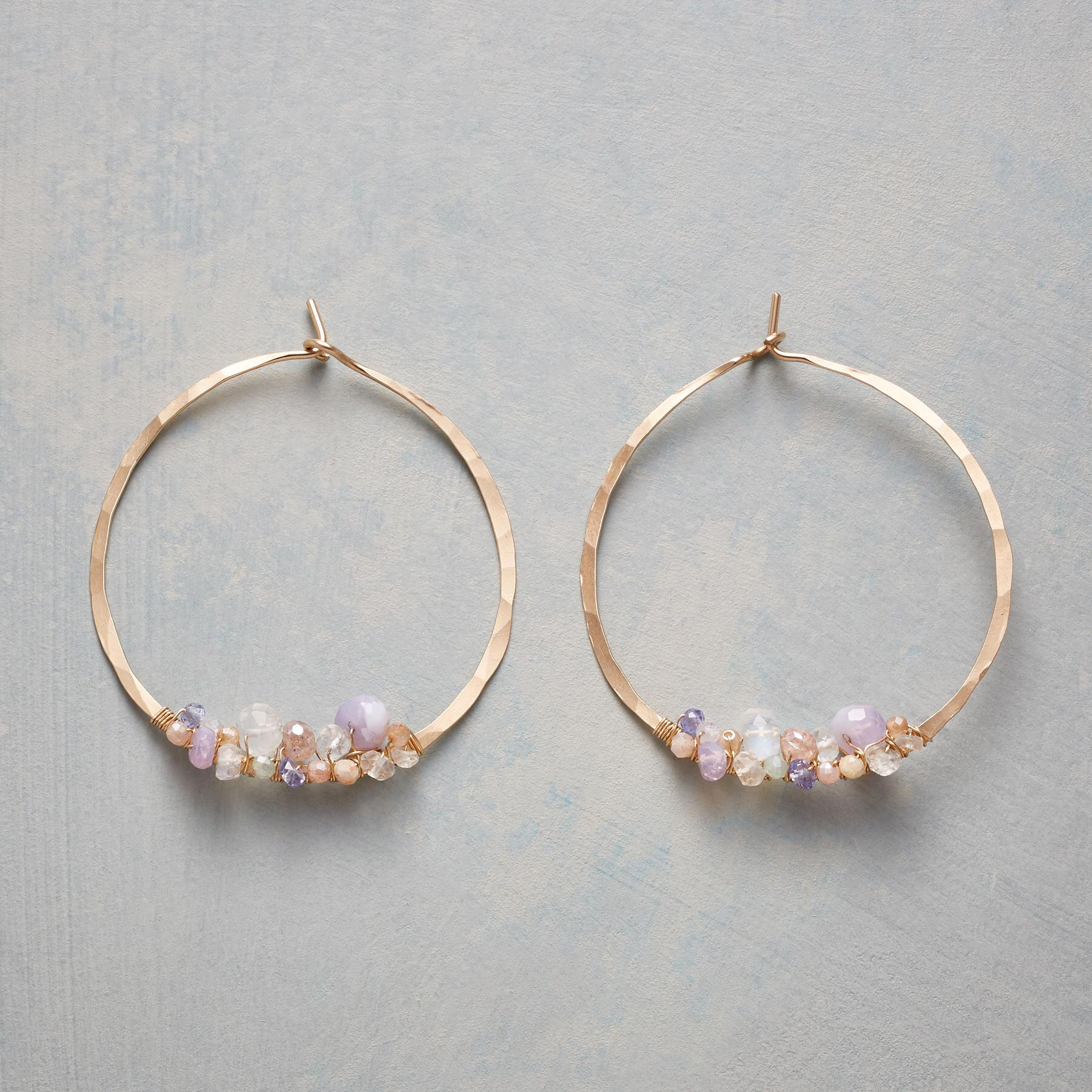 FAIRYTALE HOOP EARRINGS: View 1