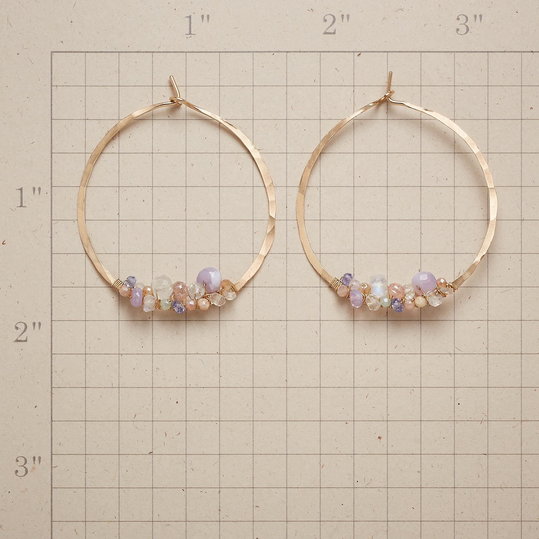 FAIRYTALE HOOP EARRINGS: View 2
