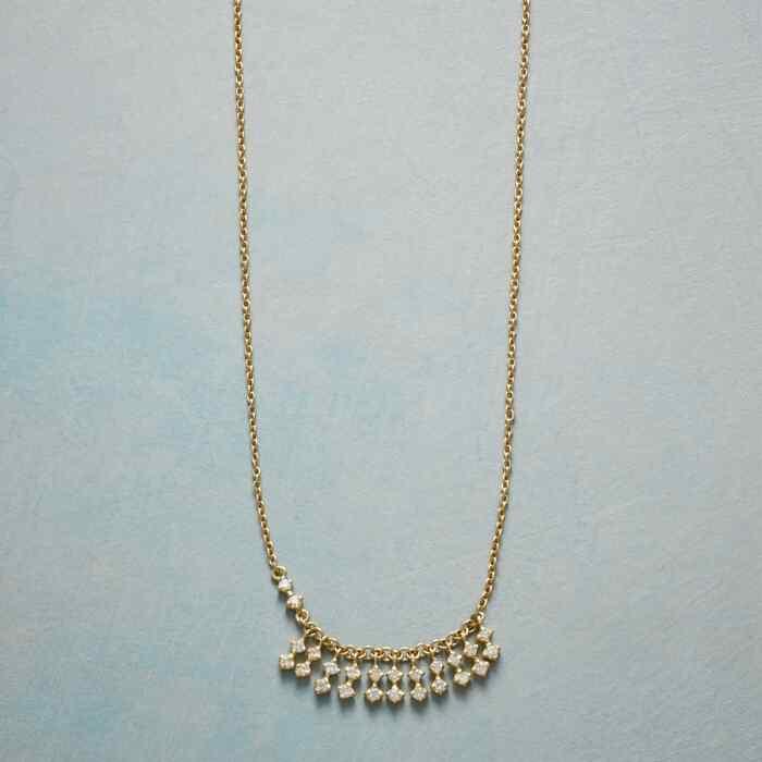 FRINGE OF DIAMONDS NECKLACE
