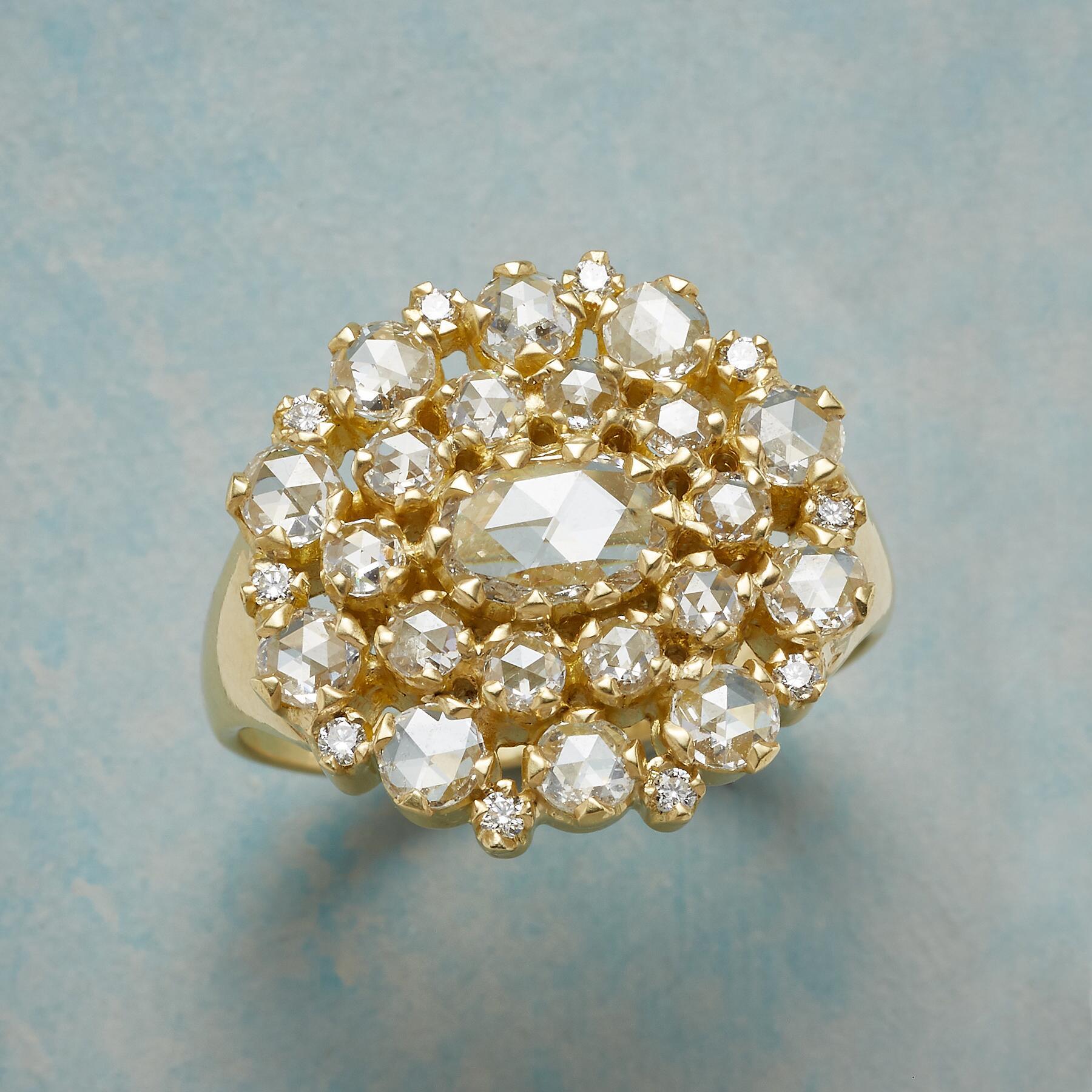 DIAMOND PROFUSION RING: View 1