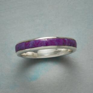 PURPLE PROSE RING