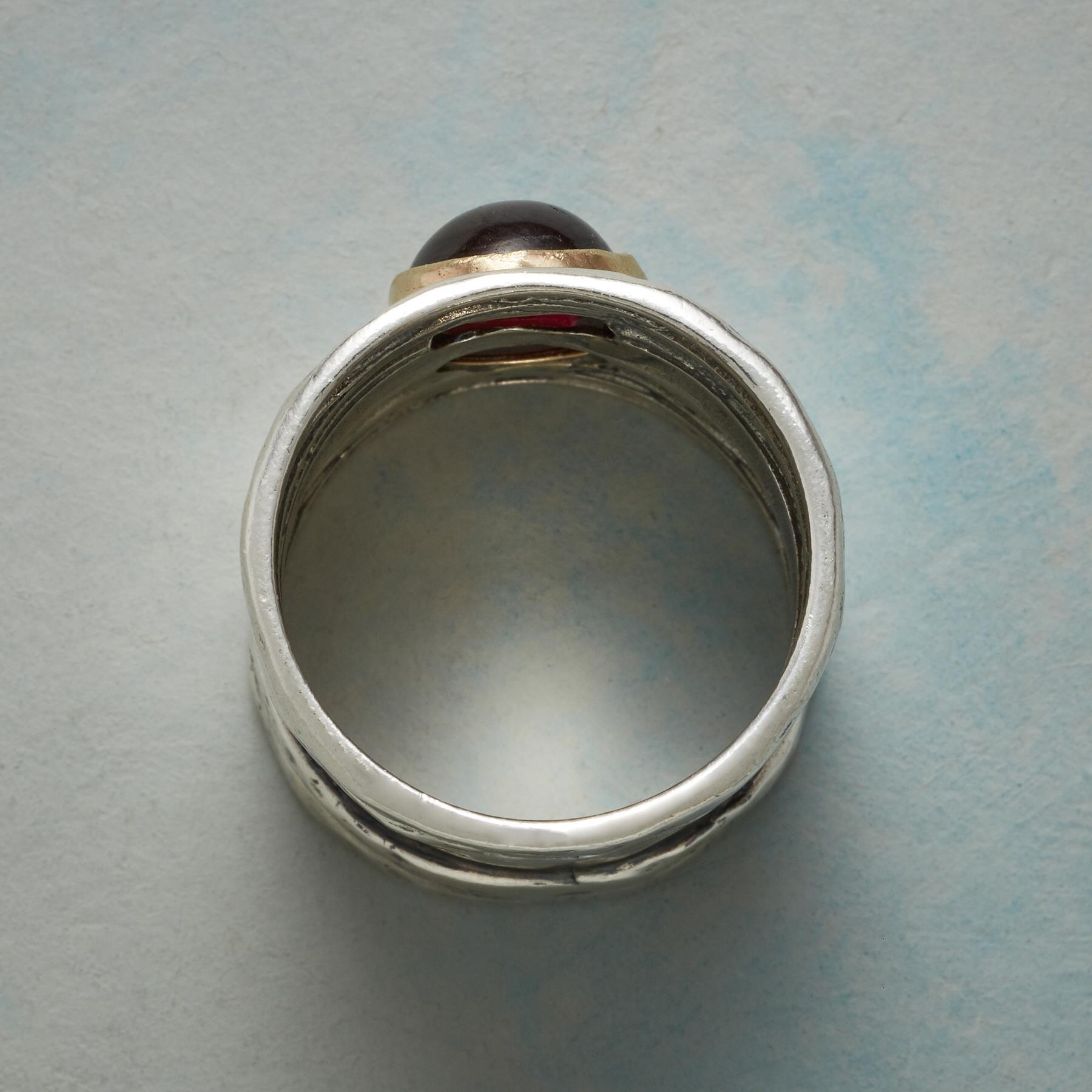 GARNETS NEST RING: View 2