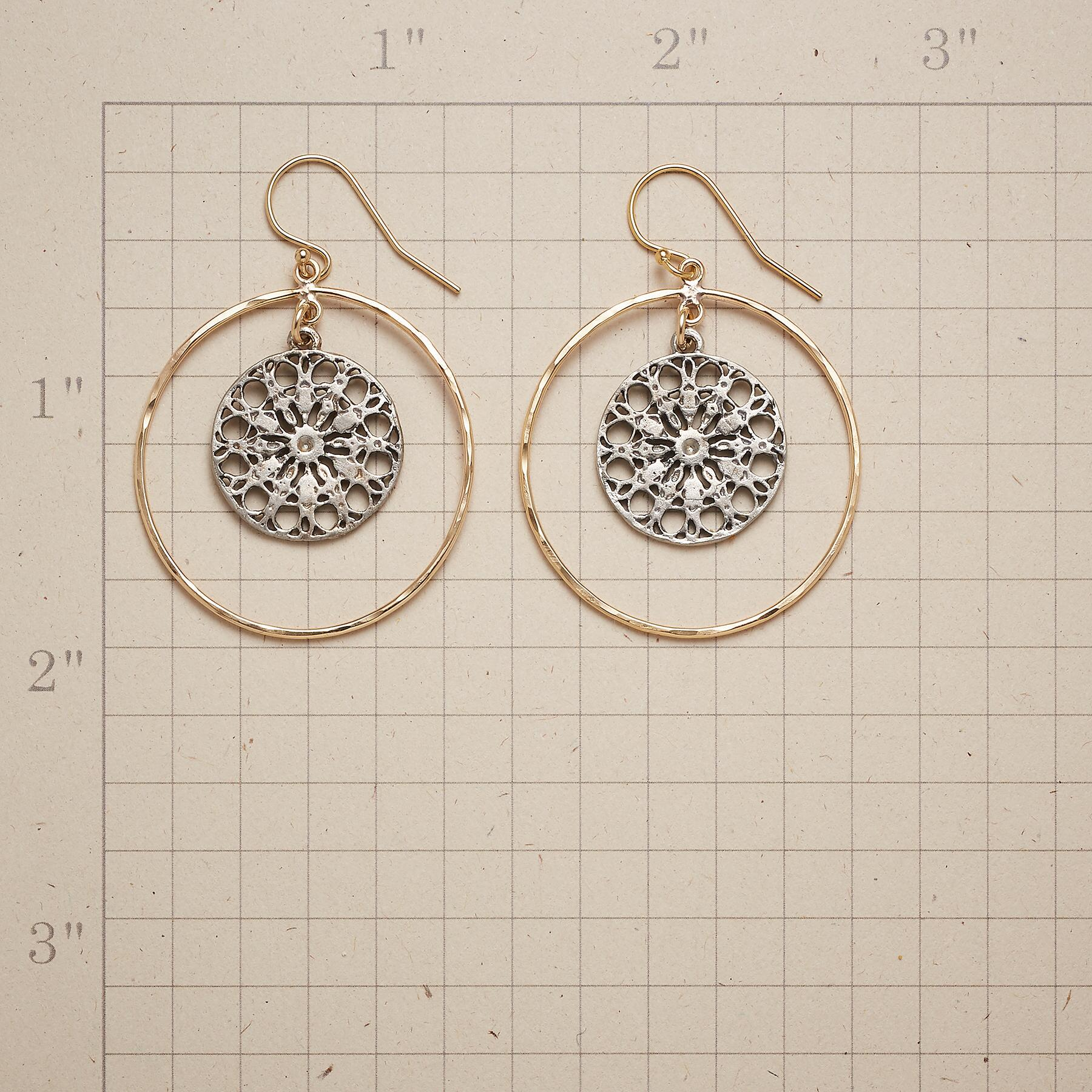 MANDALA CHARM EARRINGS: View 2