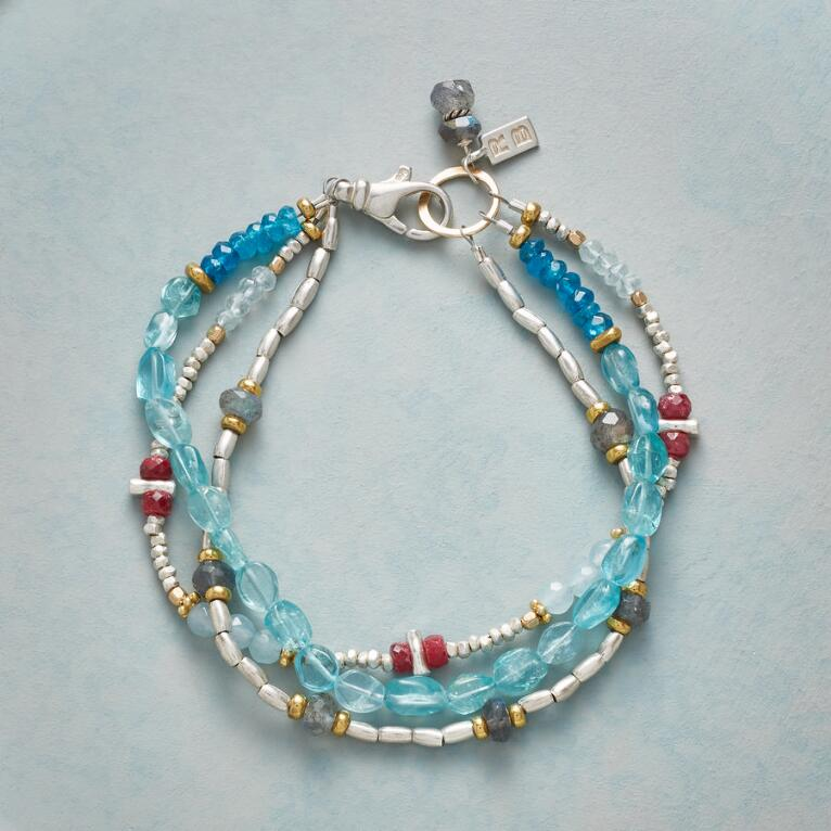 ALL AROUND AQUA BRACELET