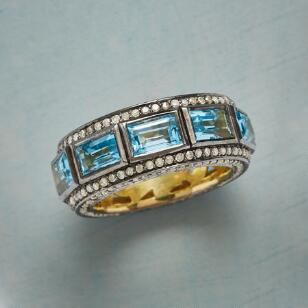 PERIMETERS TOPAZ RING