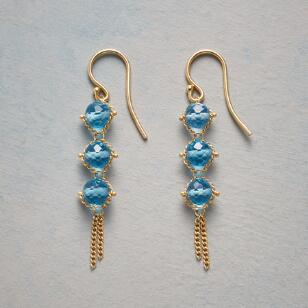 TOPAZ TRIOS EARRINGS