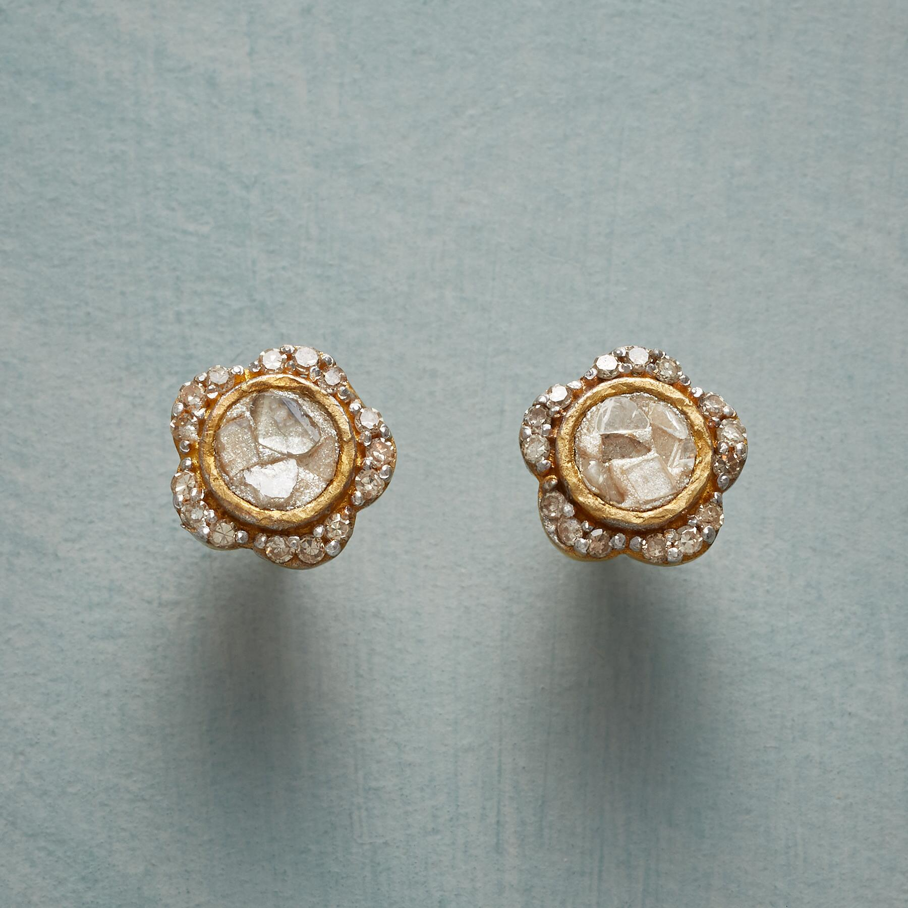 DIAMOND PRIMROSE EARRINGS: View 1