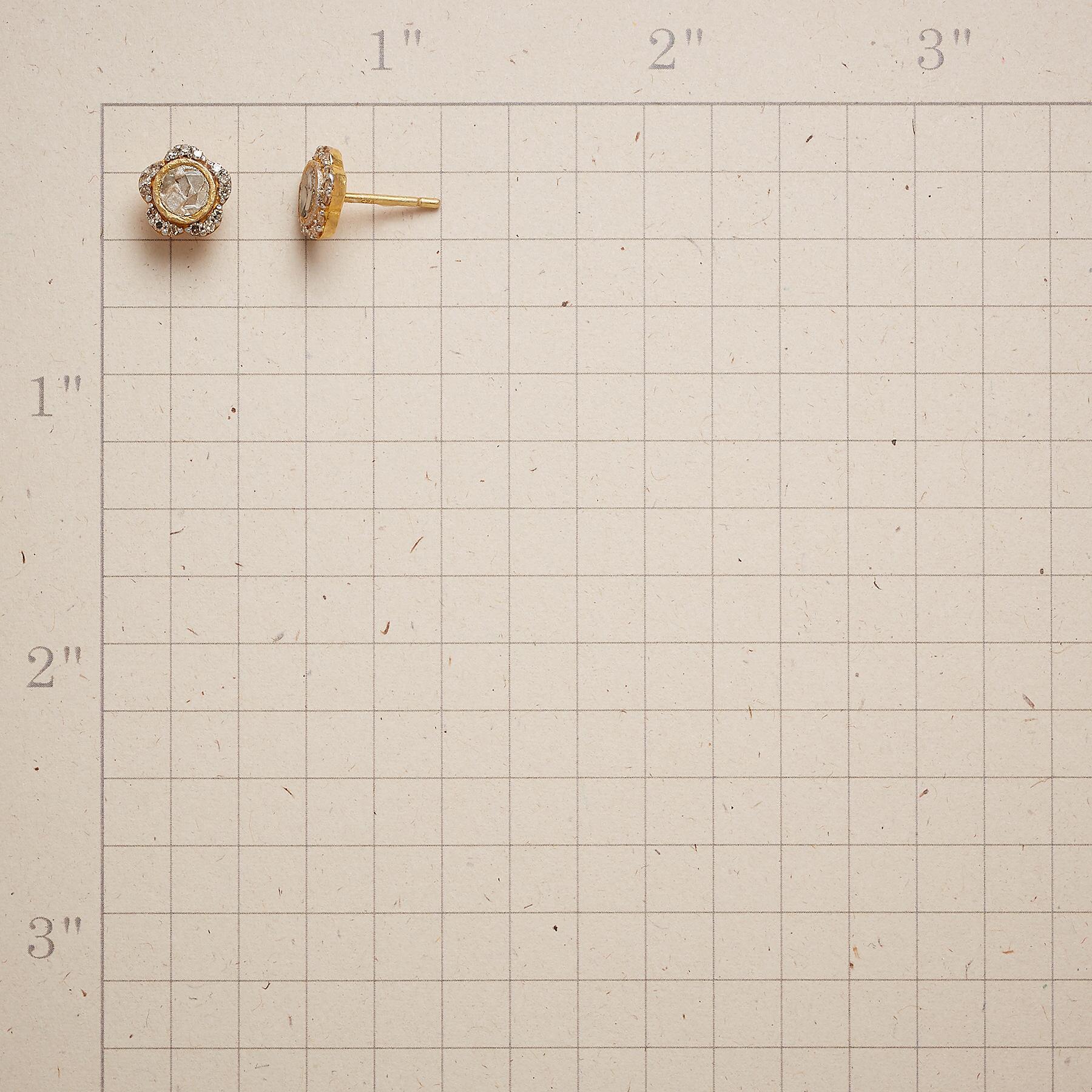 DIAMOND PRIMROSE EARRINGS: View 2