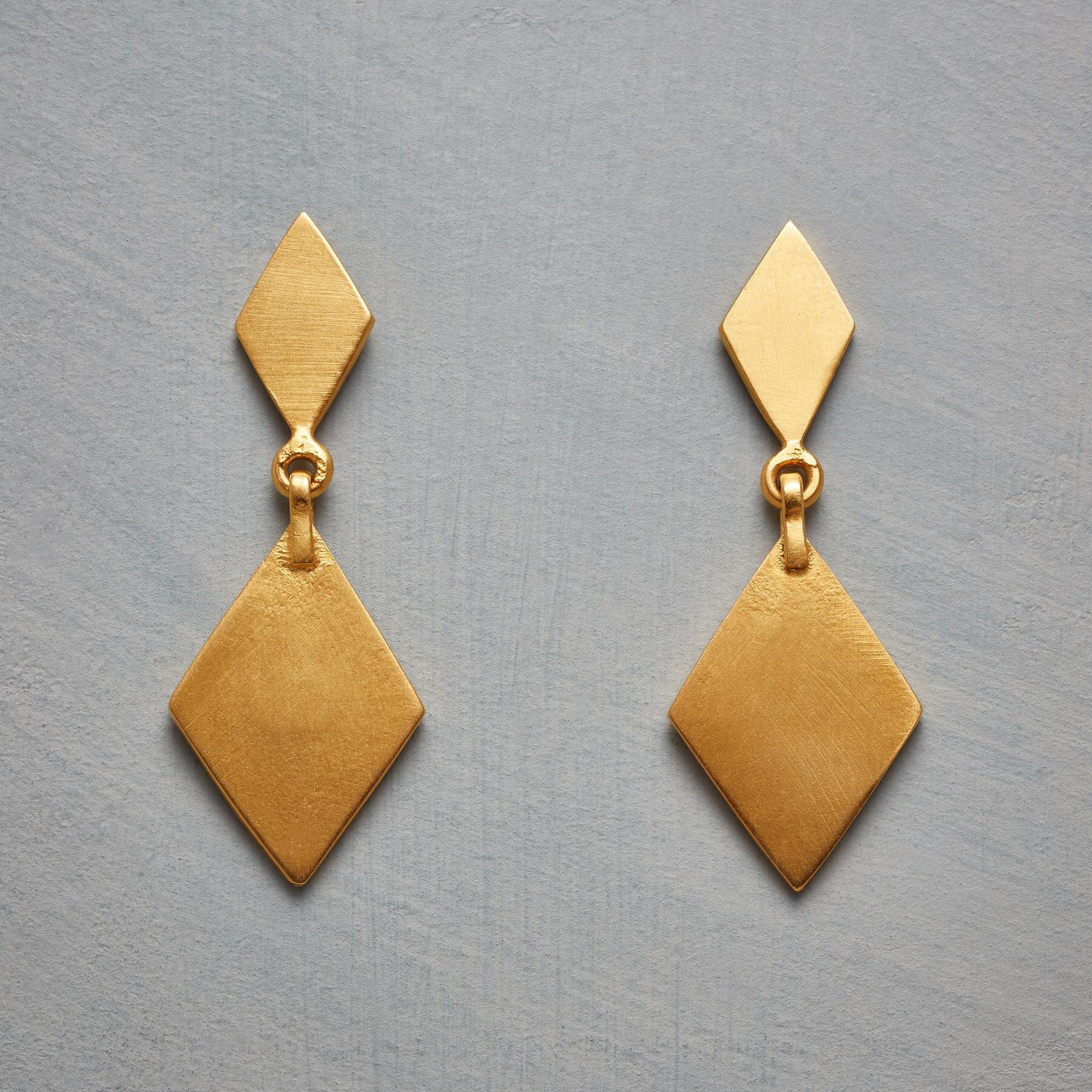 DIAMOND DEUCES EARRINGS: View 1