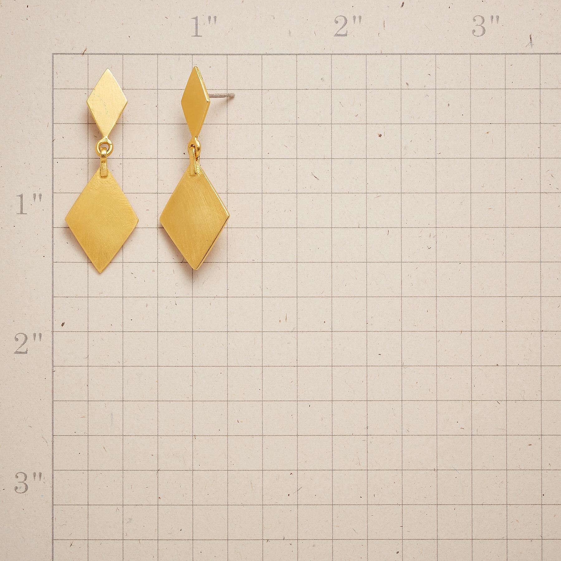 DIAMOND DEUCES EARRINGS: View 2