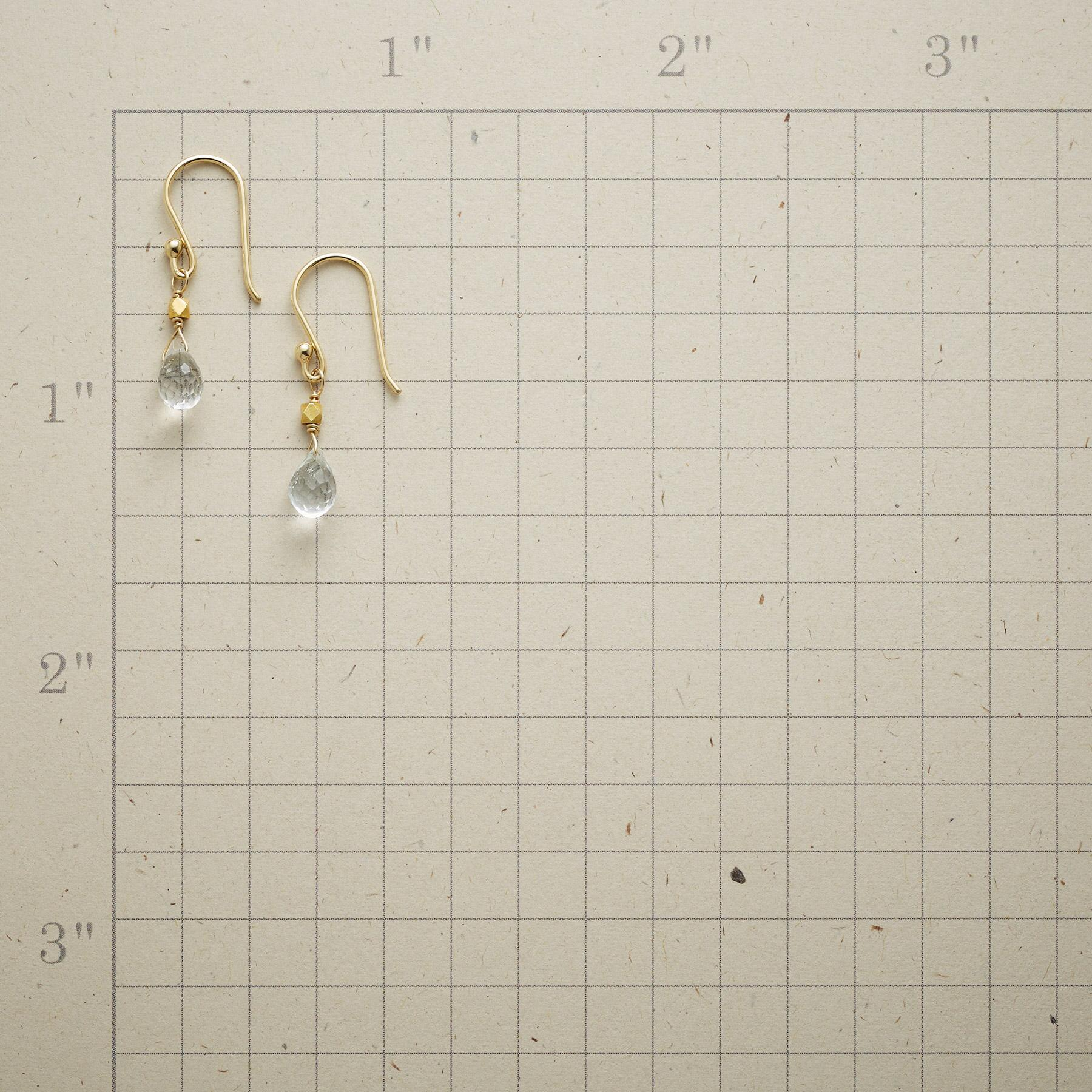 TO BE CLEAR EARRINGS: View 2