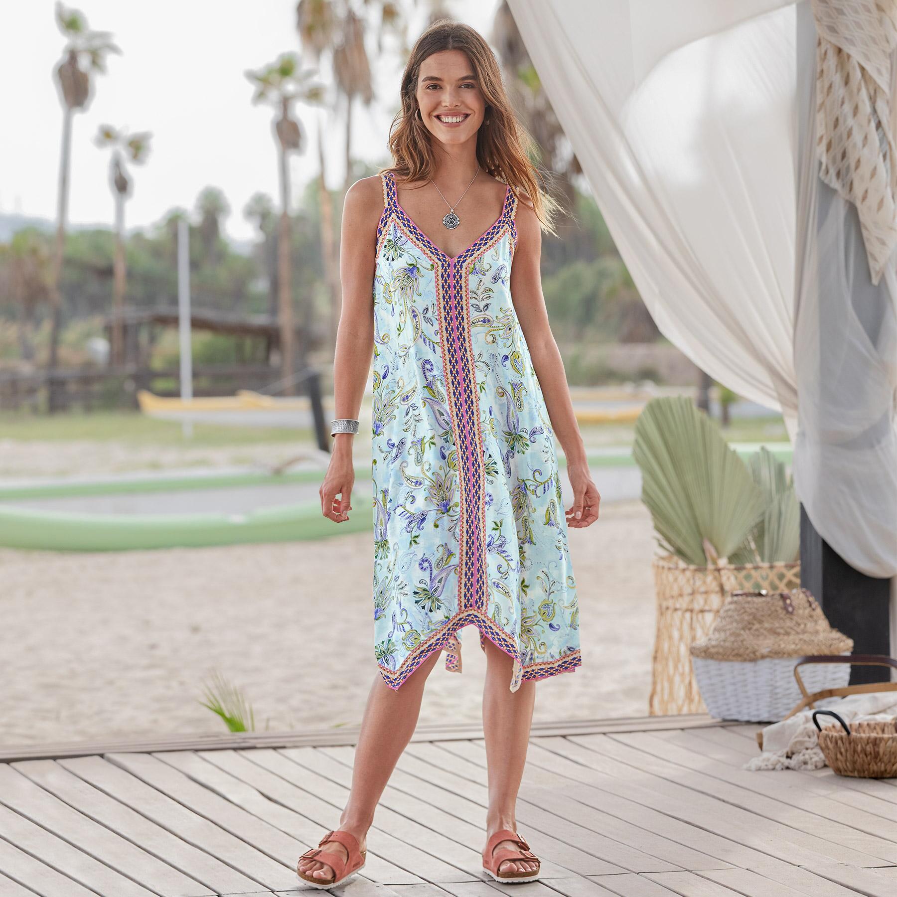 BEACH BREEZE DRESS: View 1