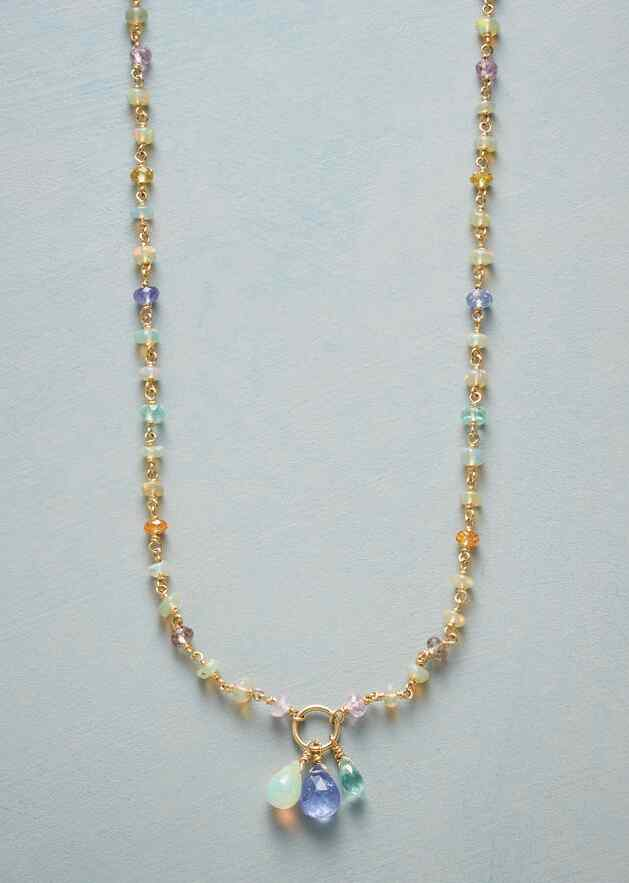 GOLD RAINBOW NECKLACE