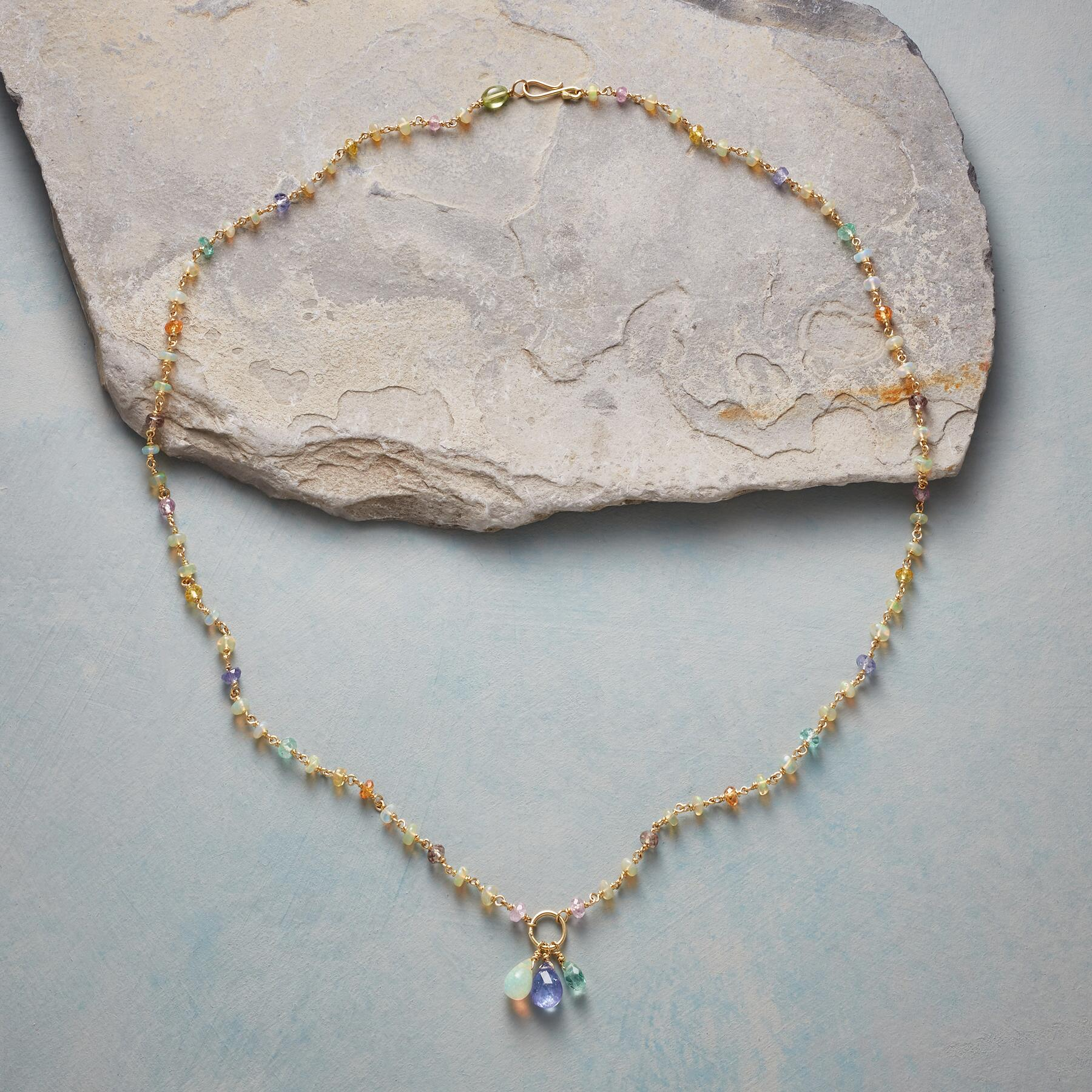 GOLD RAINBOW NECKLACE: View 2