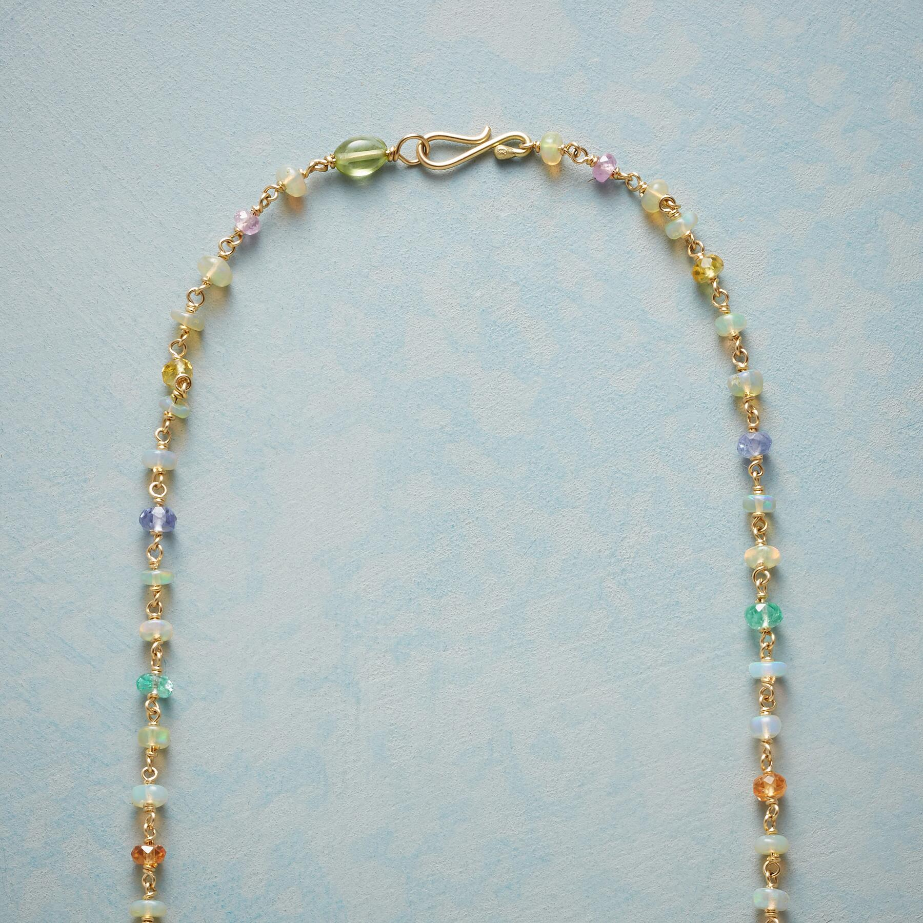 GOLD RAINBOW NECKLACE: View 3