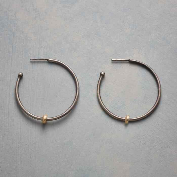 LET IT SLIDE HOOP EARRINGS