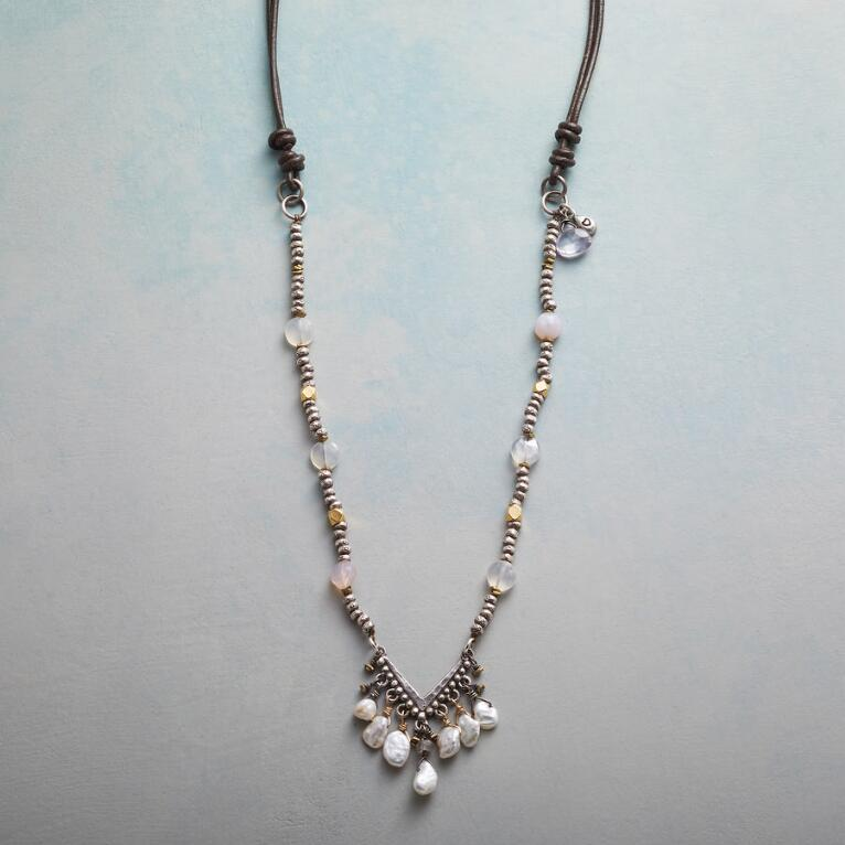 PEARLS IN THE BALANCE NECKLACE