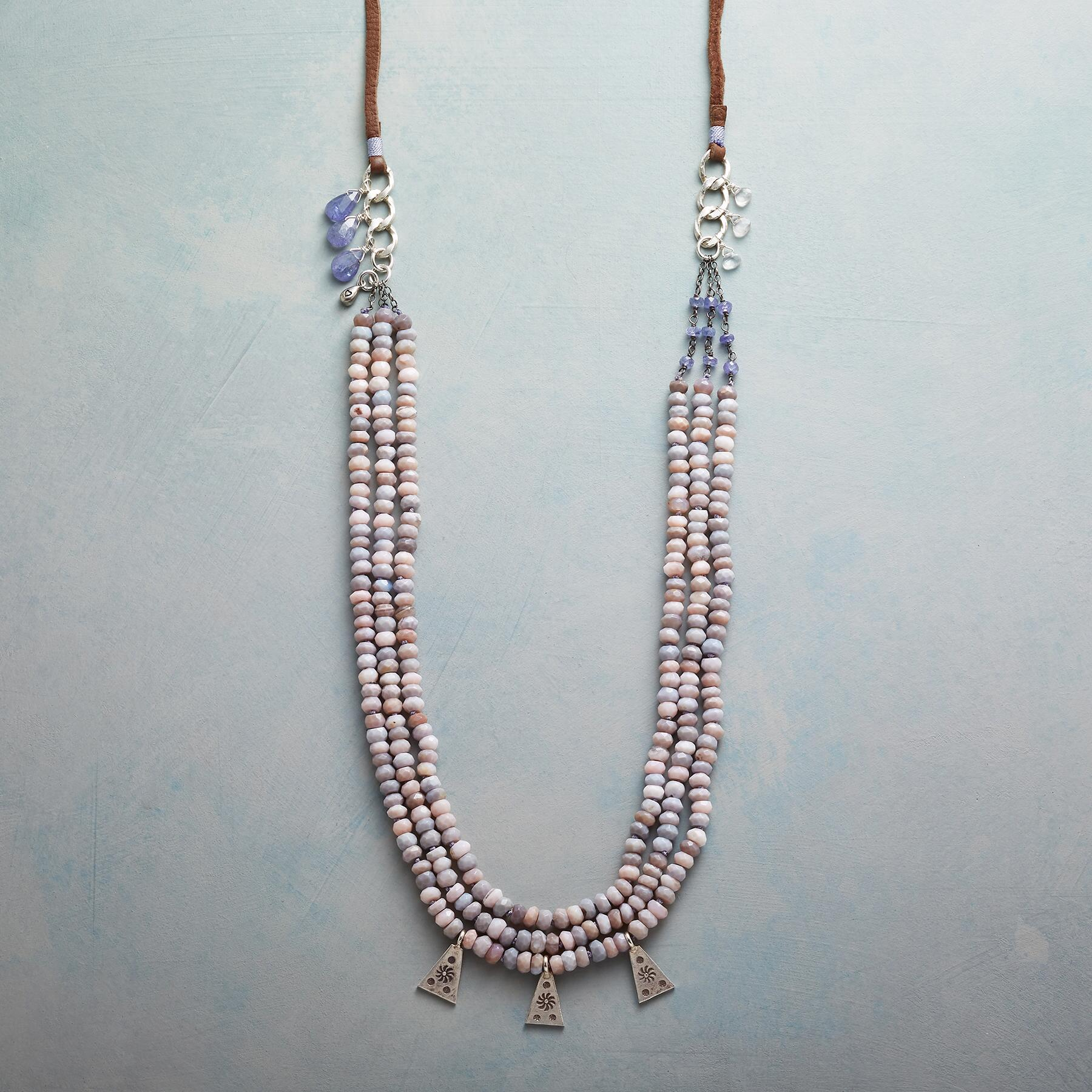 OPAL RIVERSTONE NECKLACE: View 1
