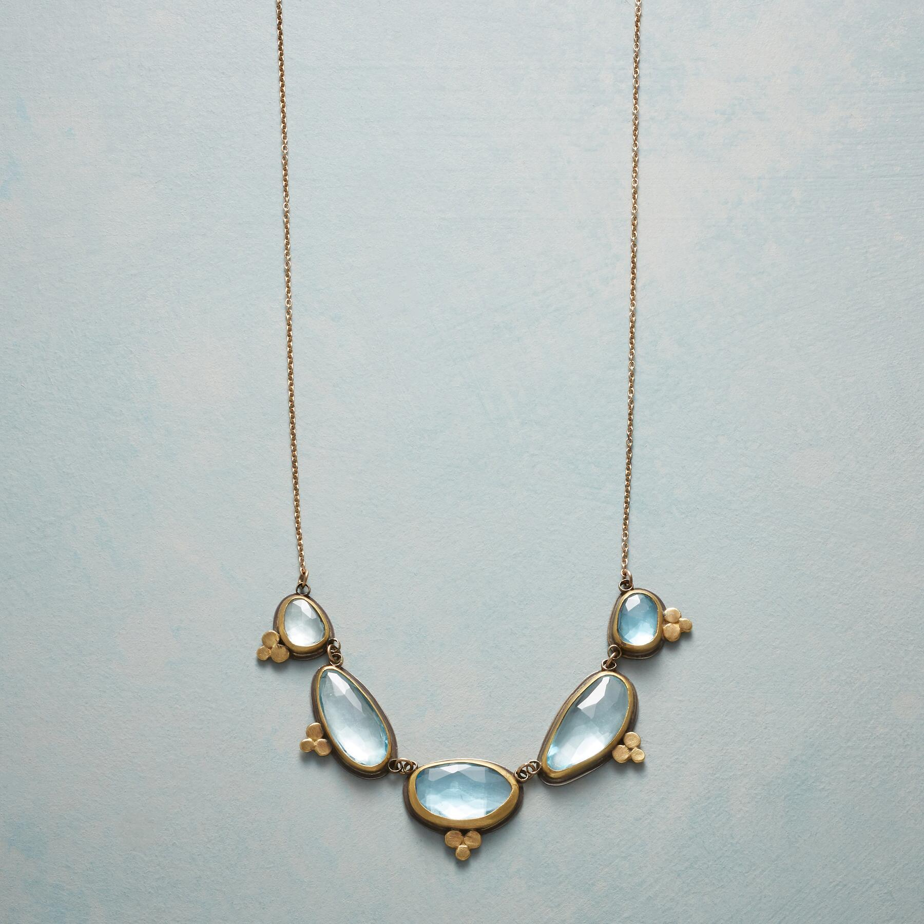 TOPAZ MOONLIGHT NECKLACE: View 1