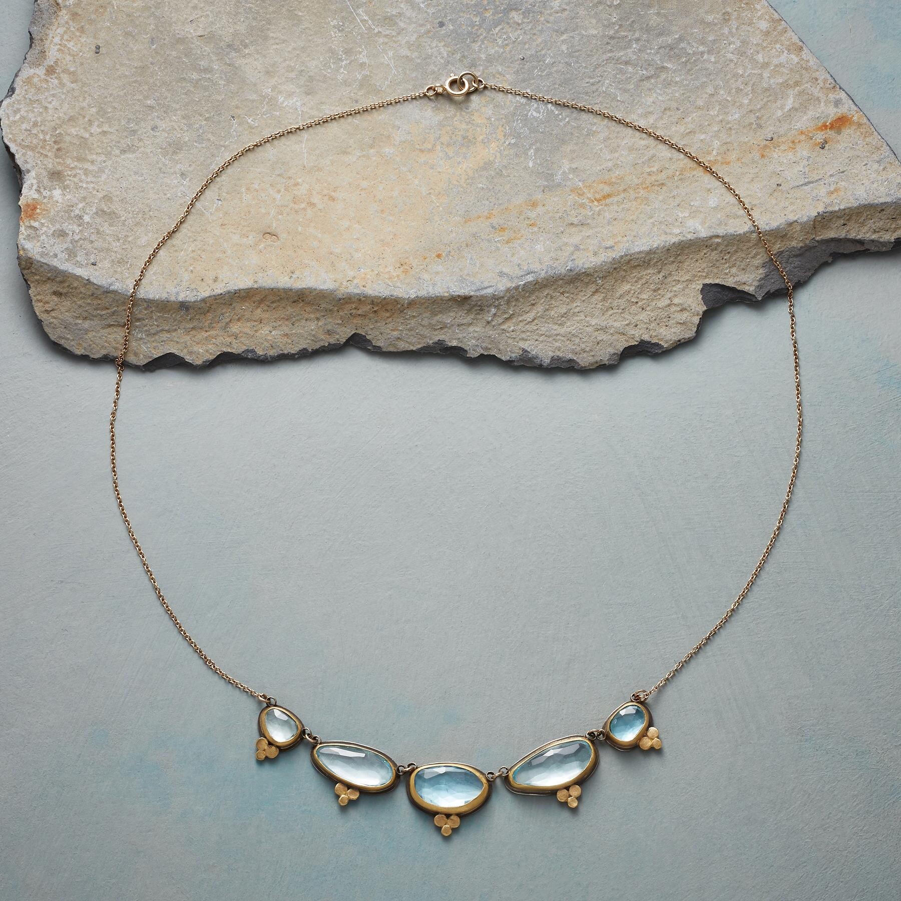 TOPAZ MOONLIGHT NECKLACE: View 2