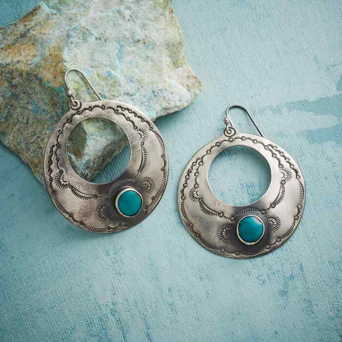 TRUE SPIRIT TURQUOISE EARRINGS