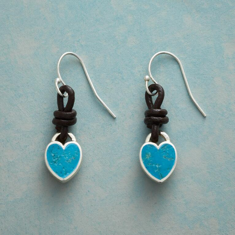 LOVE KNOT TURQUOISE EARRINGS