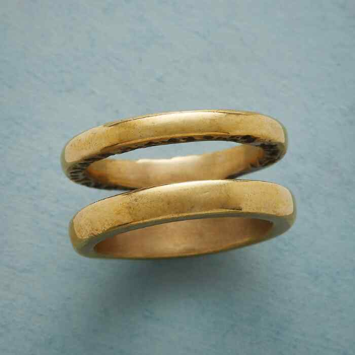 DUALITY BRONZE RING