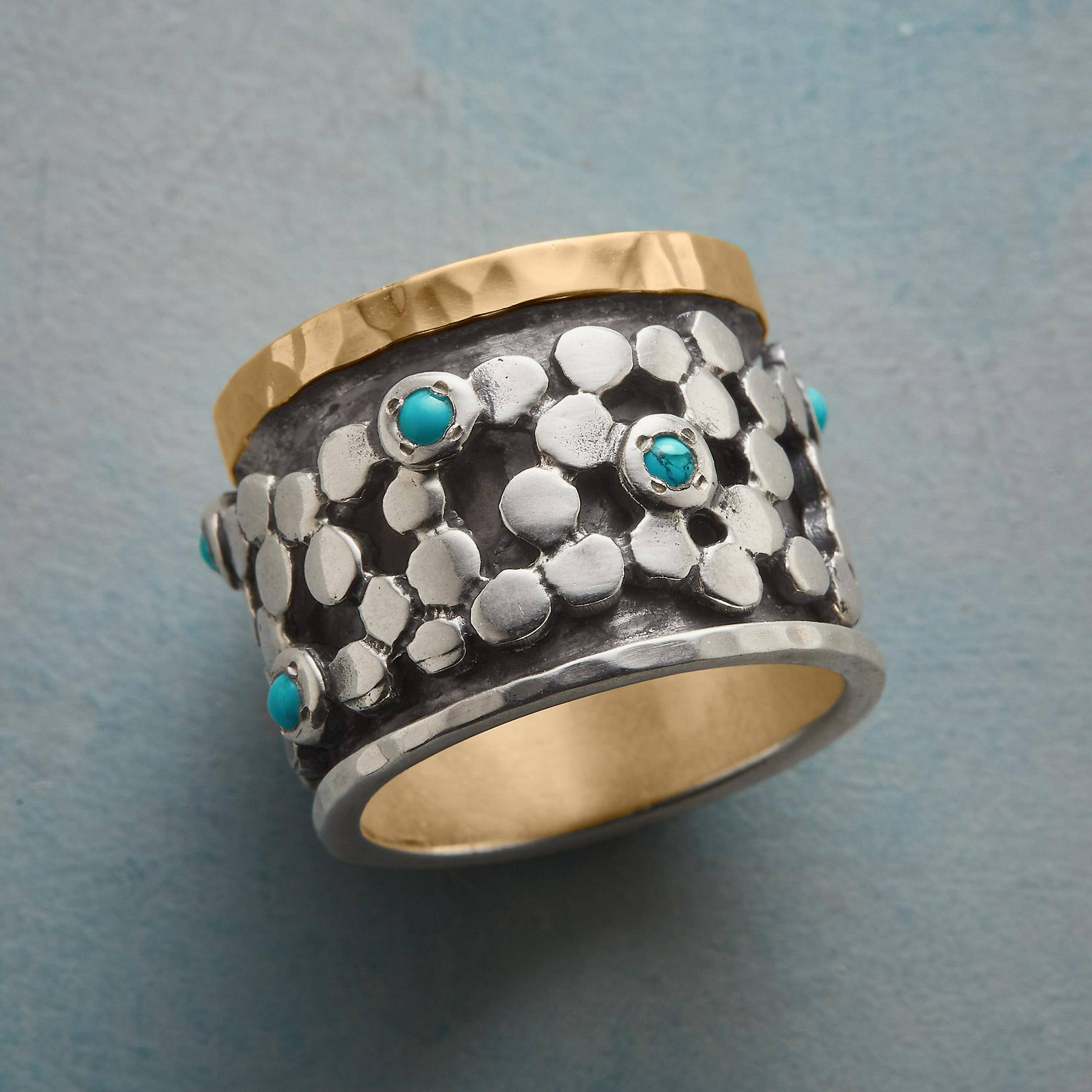 RIVER STONES RING: View 1