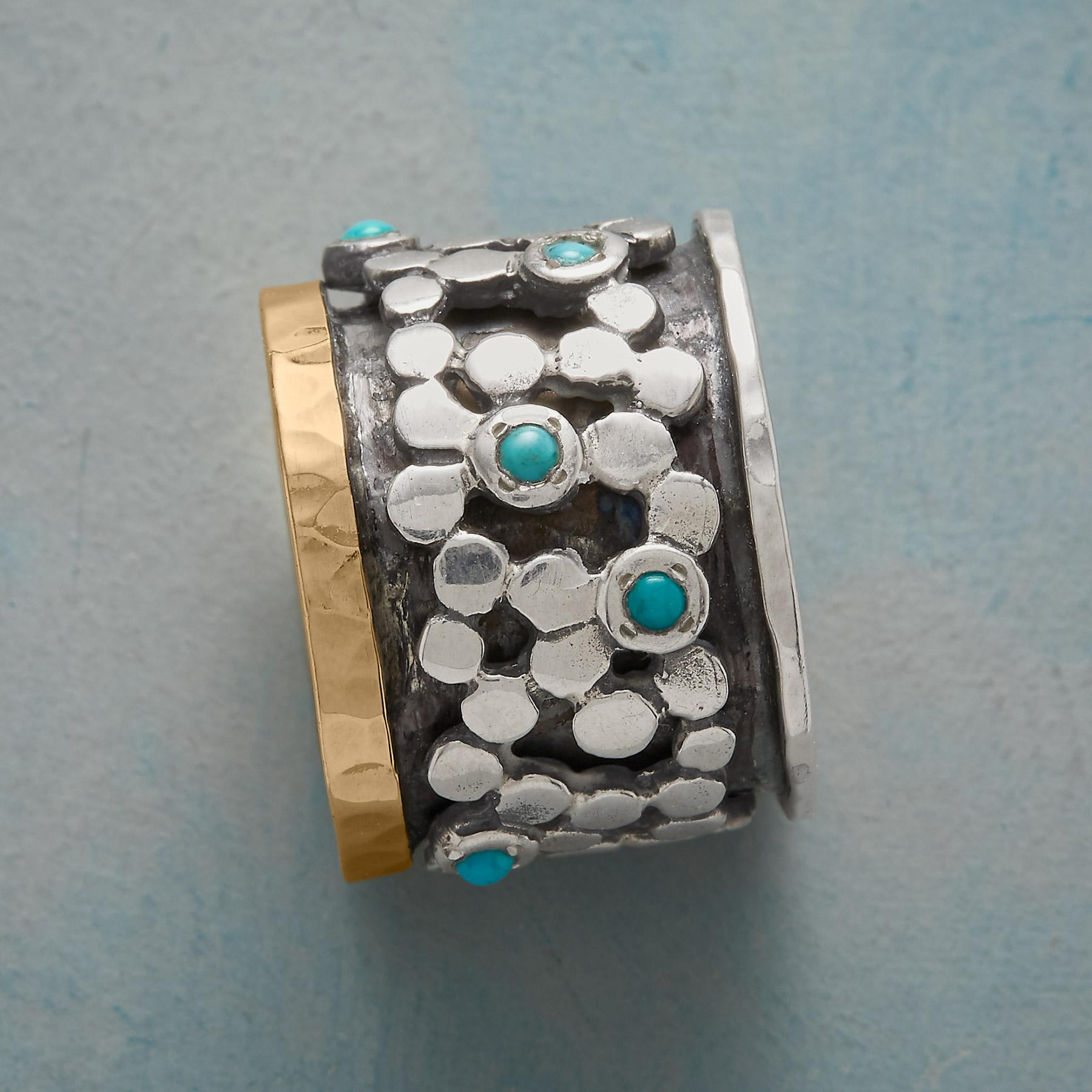 RIVER STONES RING: View 2