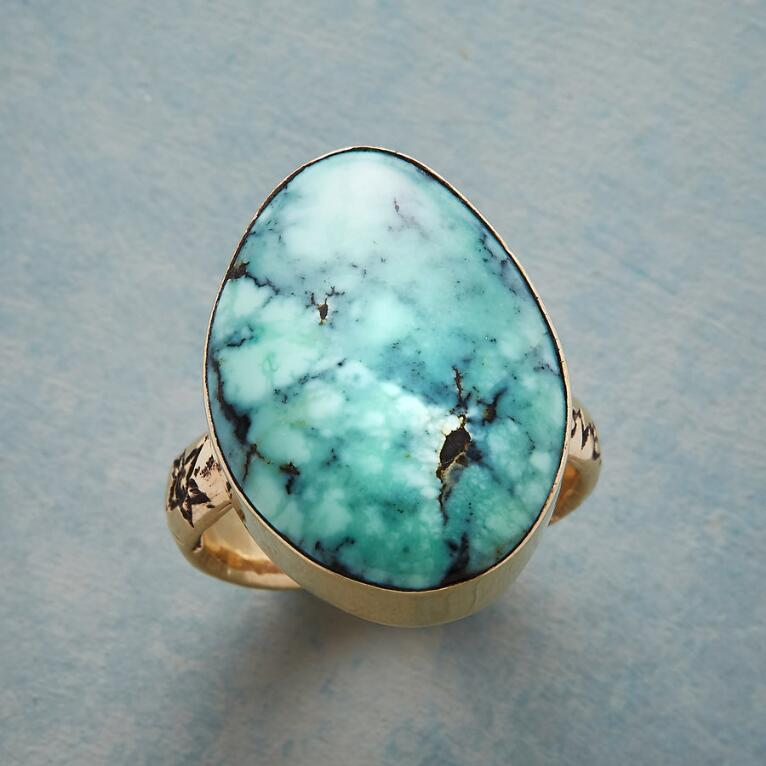 BLUE SKY & SUNSHINE RING