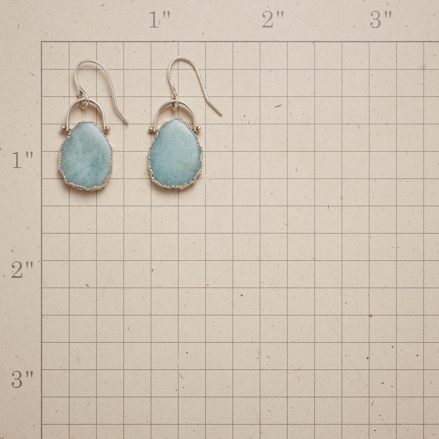 SEAFOAM EARRINGS: View 2