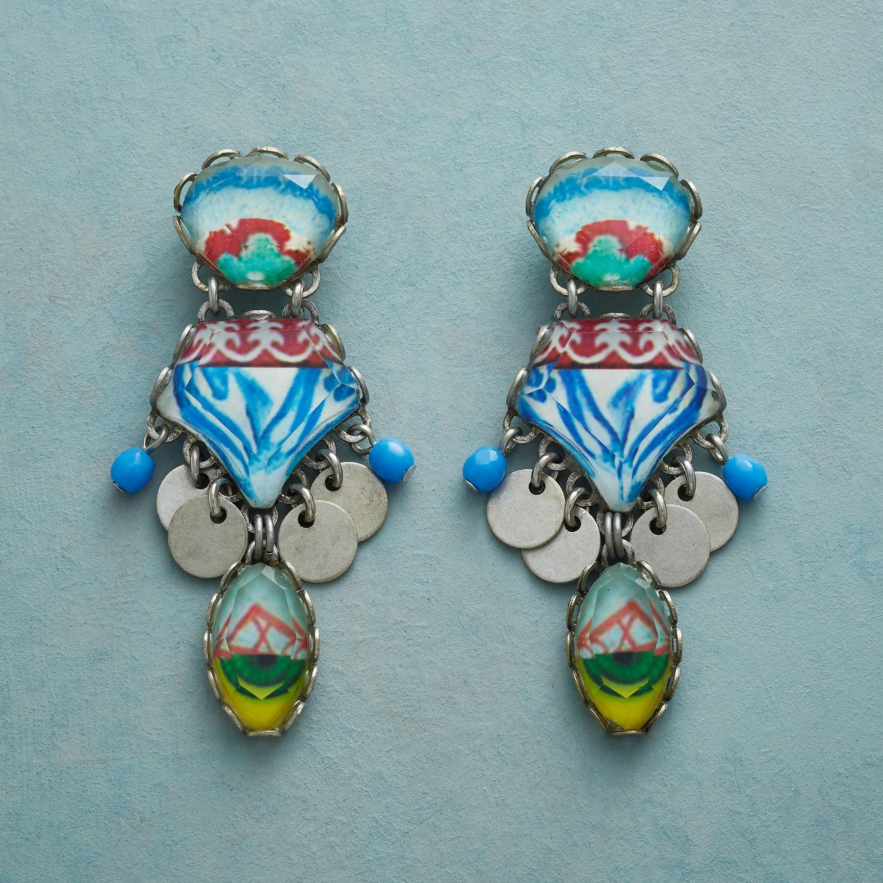 CLEAR COAST EARRINGS: View 1