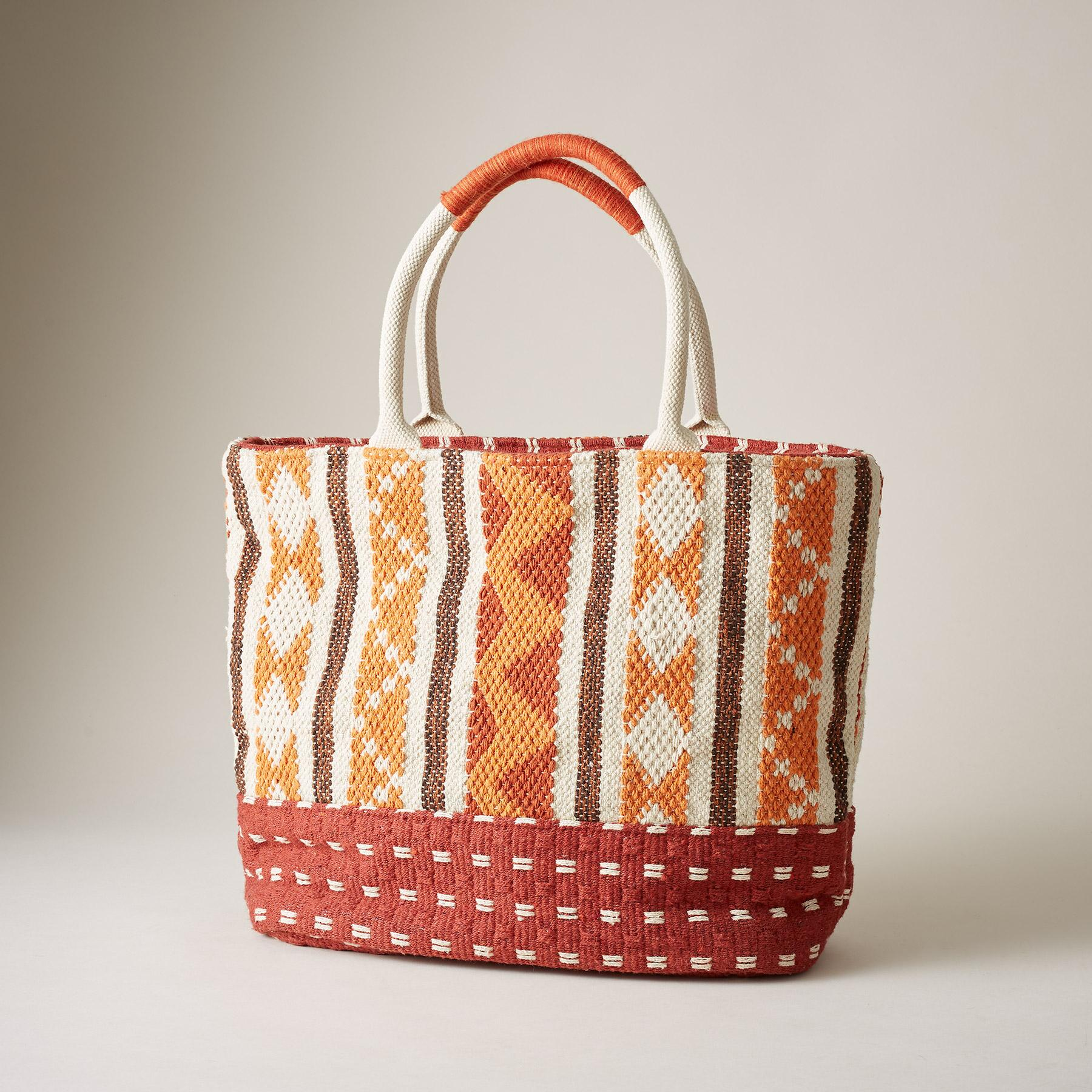 SOLSTICE FIRE TOTE: View 1