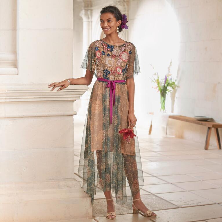BOTANICAL BREEZE DRESS PETITE