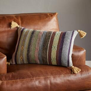 SUNSET DREAMS PILLOW, STRIPE