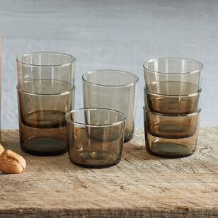 TRANSLUCENCE TUMBLERS, SET OF 6