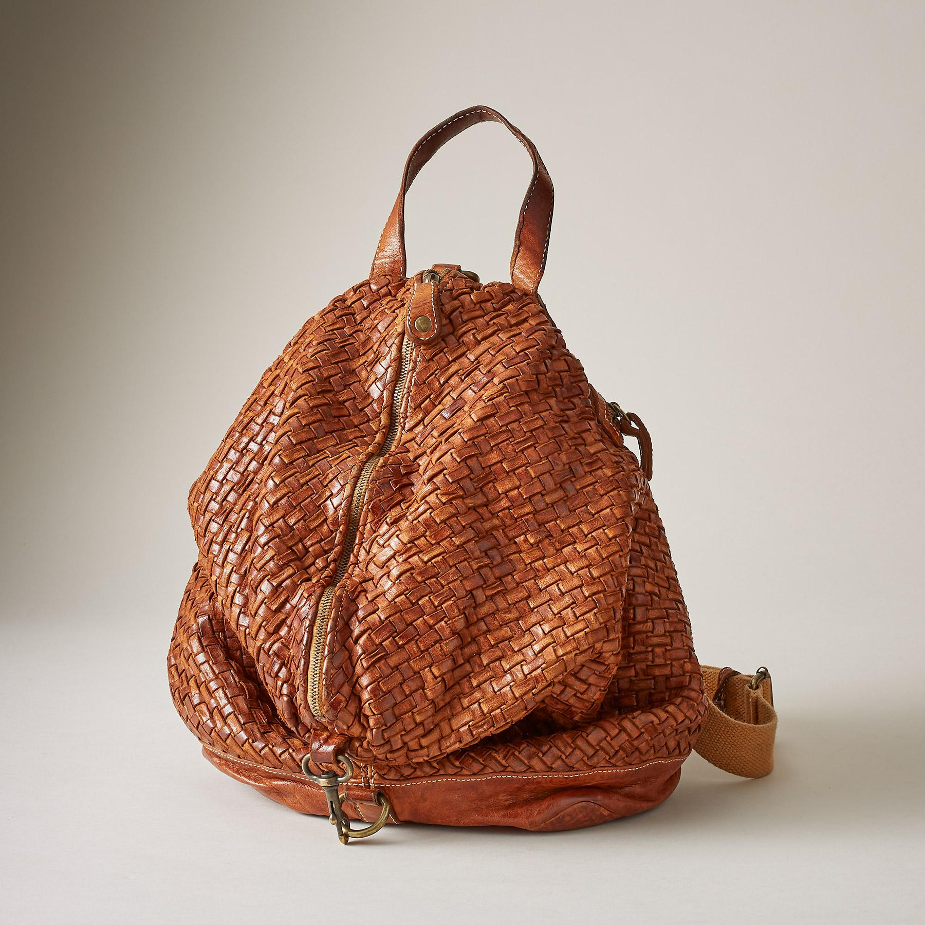 EUREKA WOVEN BACKPACK: View 1
