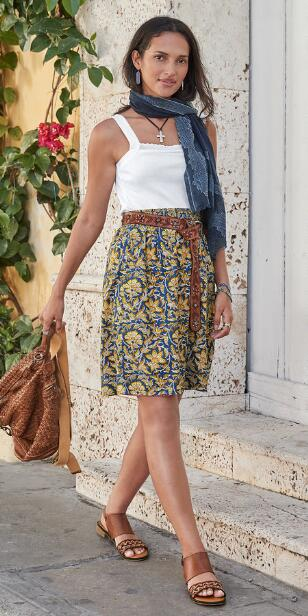 TABRIS REVERSIBLE SKIRT