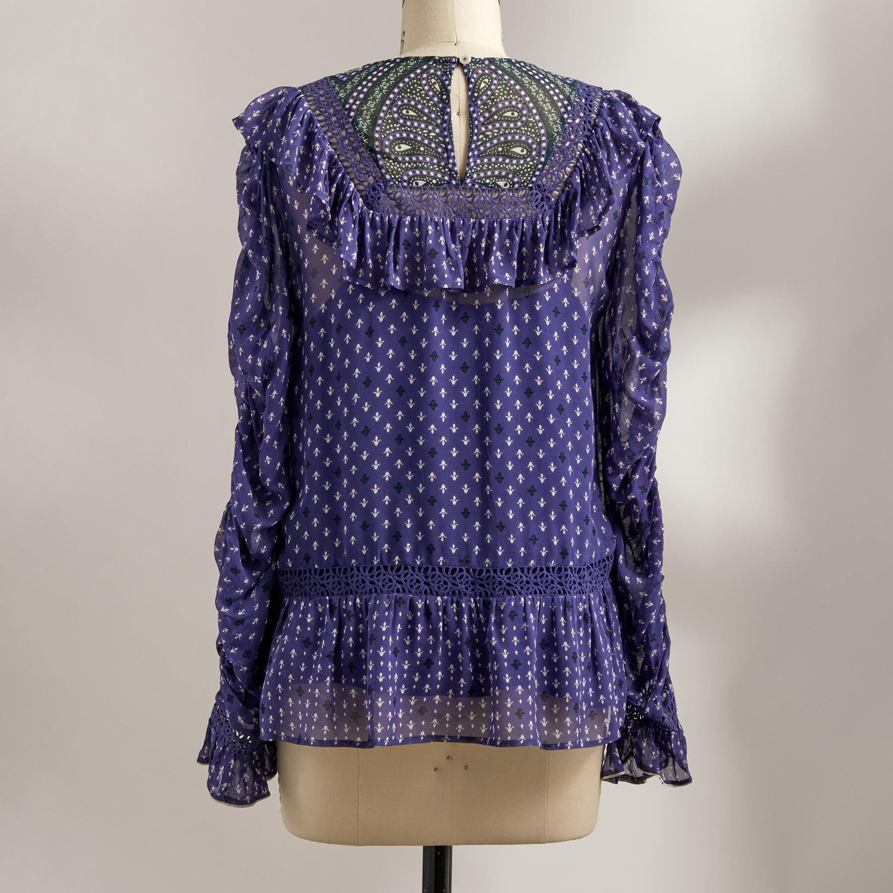 DELAMERE BLOUSE: View 3