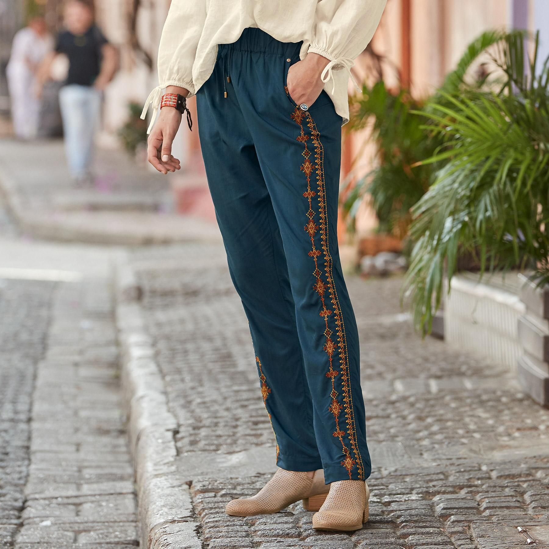 PERFECTLY NOMADIC PANTS: View 1