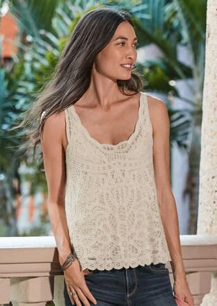 BELLA LACE TANK