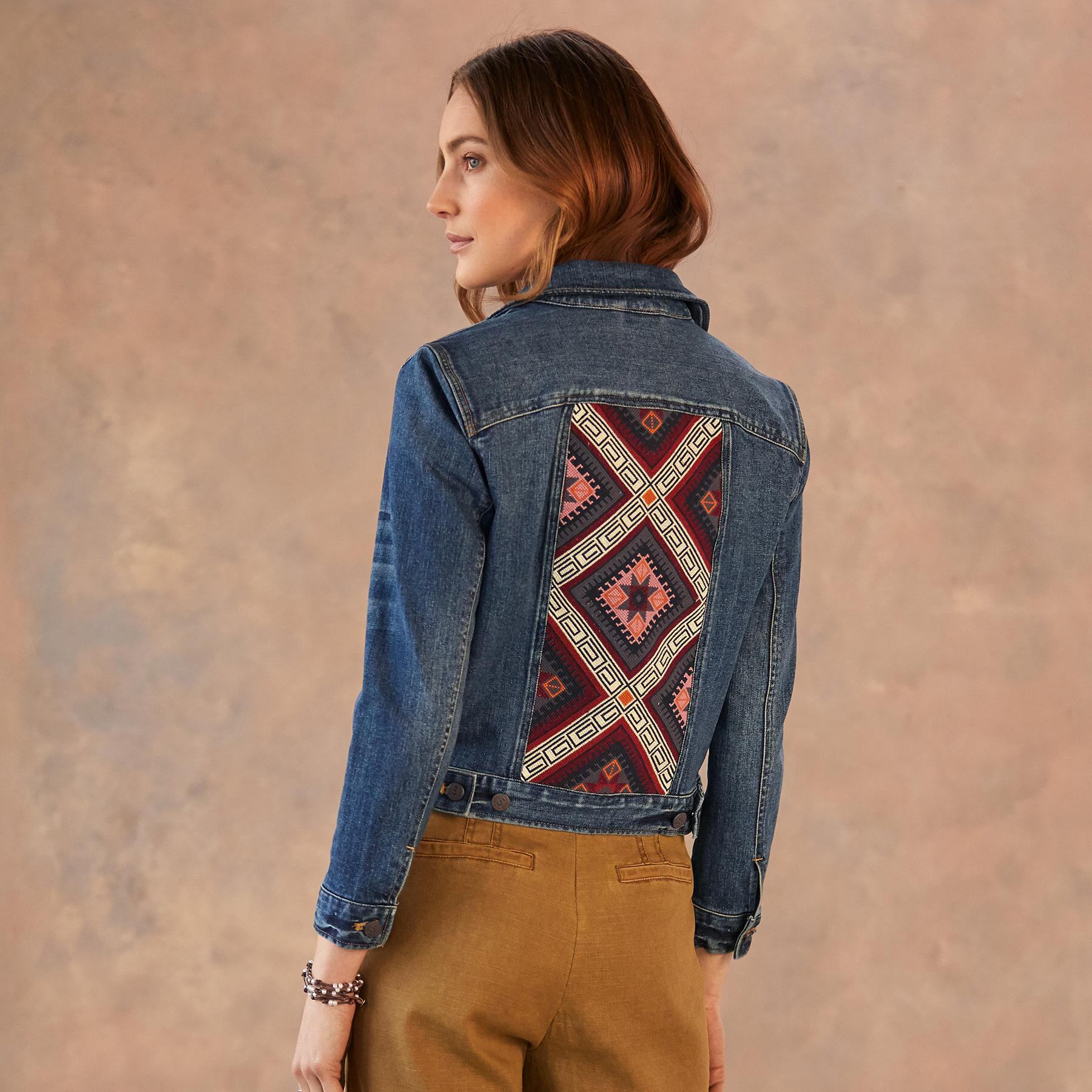 DESERT HAZE JEAN JACKET: View 3