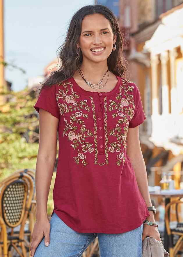 FIELDS IN BLOOM TOP