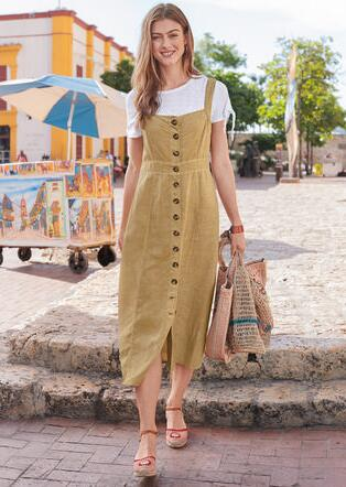 COLONIAL DRESS - PETITES
