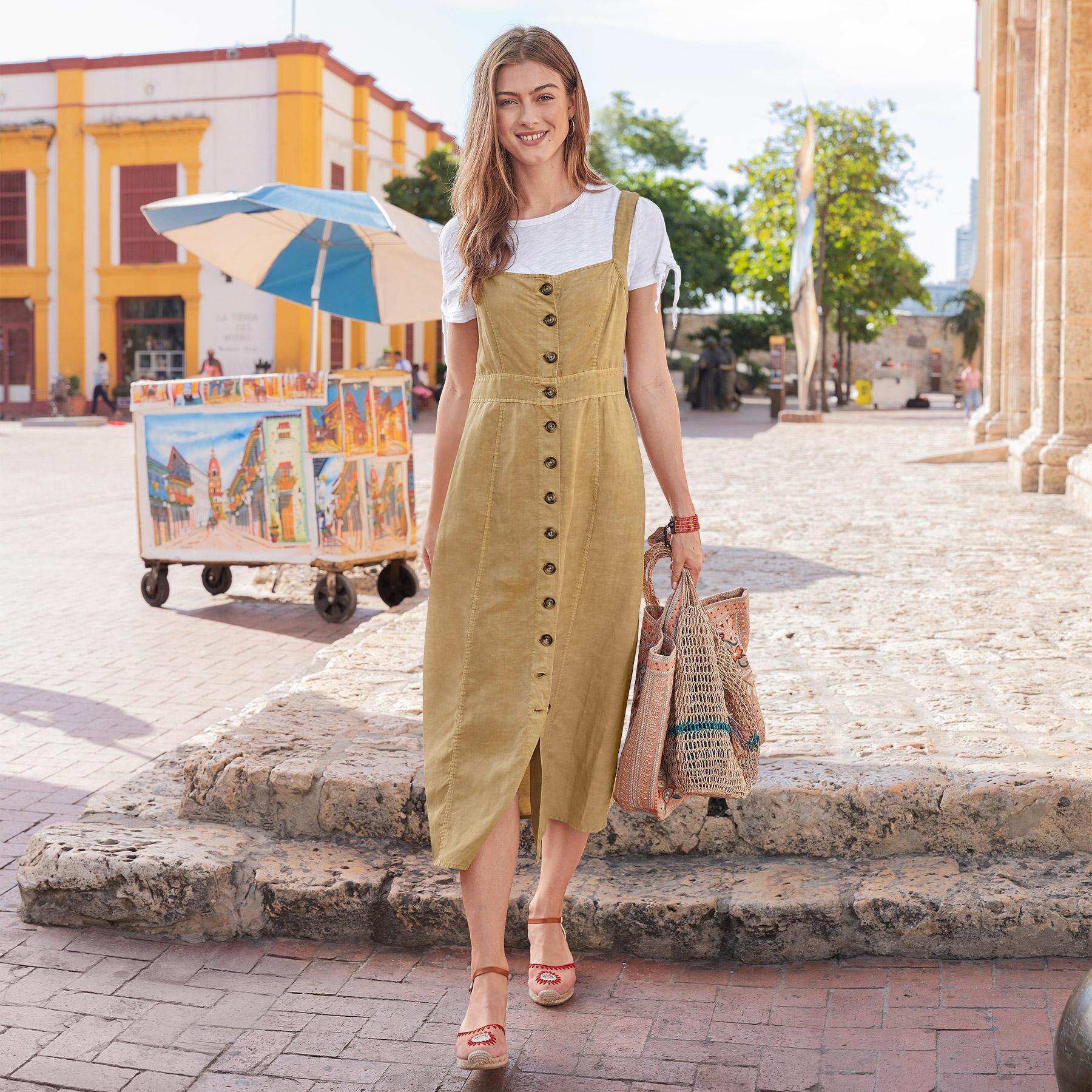 COLONIAL DRESS PETITE: View 1